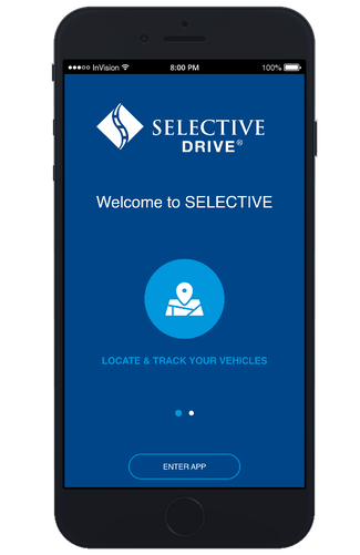 Create login credentials for your Selective® Drive account.
